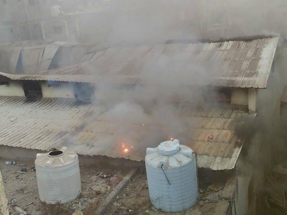 Photo of مدفعية التحالف تقصف منزل مواطن في لحج