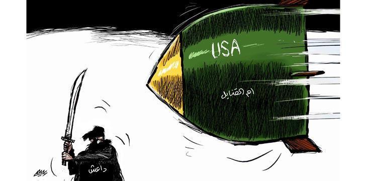 Photo of أمريكا أم الارهاب (كاريكاتير)