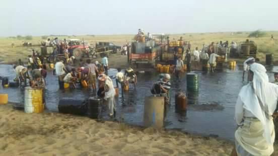 Photo of مسلحون يفجرون أنبوب النفط الممتد بين مأرب ورأس عيسى