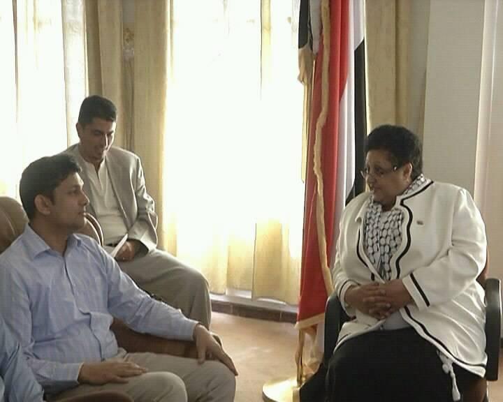 Photo of صنعاء: وزيرة الشؤون الاجتماعية والعمل تحذر من مغبة استهداف ميناء الحديدة