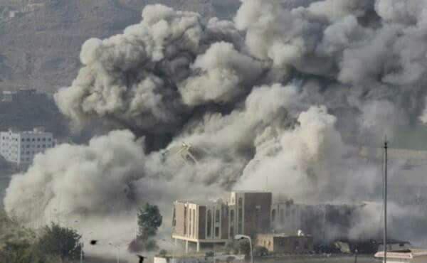 Photo of عاجل : غارات عنيفة على العاصمة صنعاء
