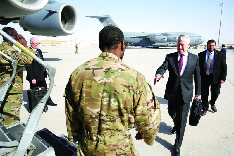 Photo of وزير الدفاع الأمريكي يزور قاعدة عسكرية في جيبوتي تستخدم لدعم التحالف السعودي