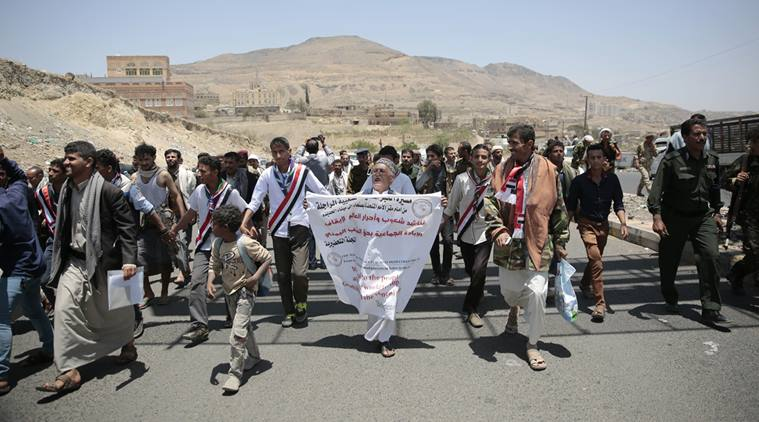 Photo of 'March for bread' protesters reach key Yemen port