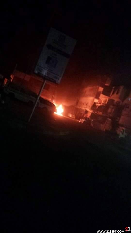 Photo of Aden: explosion and heavy clashes in sheikh Osman