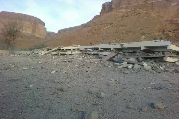 Photo of حضرموت:مسلحون يفجرون مركز للأمن العام في مديرية دوعن