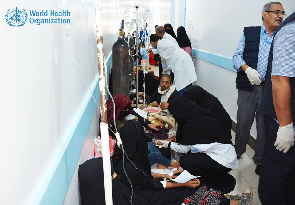 Photo of منظمة الصحة العالمية: ارتفاع عدد وفيات وباء الكوليرا في اليمن إلى 315 حالة
