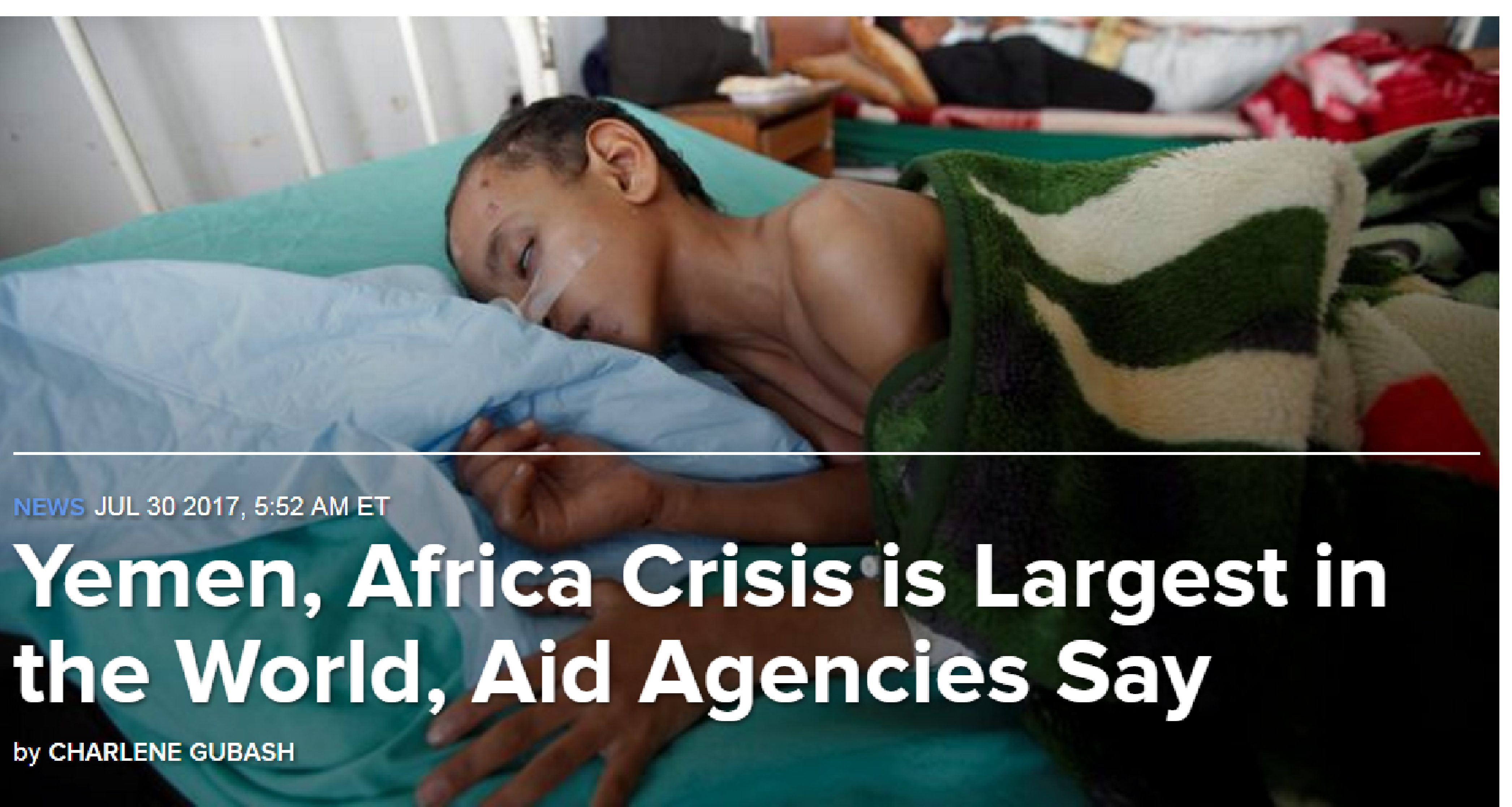 Photo of Yemen, Africa Crisis is Largest in the World, Aid Agencies Say