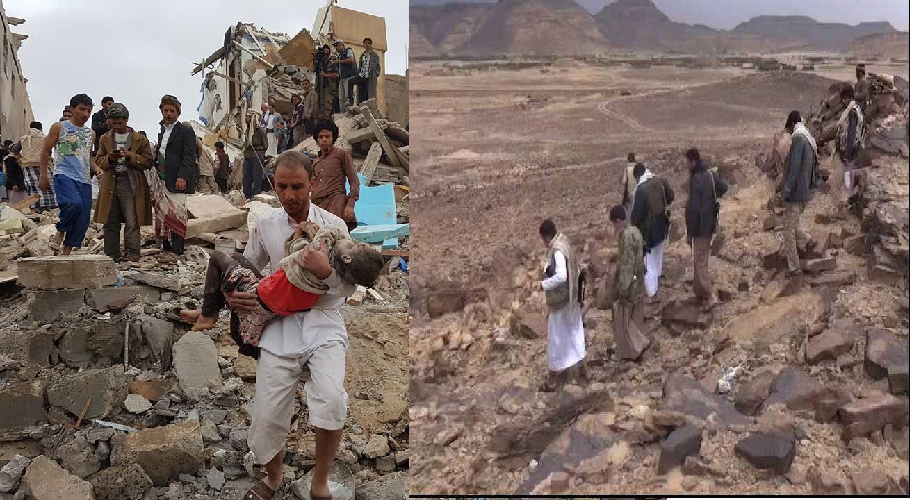 Photo of مفارقات حرب اليمن ..الحوثي يزور جبهات القتال وطيران التحالف يستهدف الاطفال
