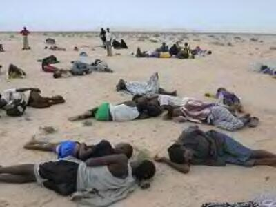 Photo of dozens drown off coast as smugglers force refugees into water in Yemen