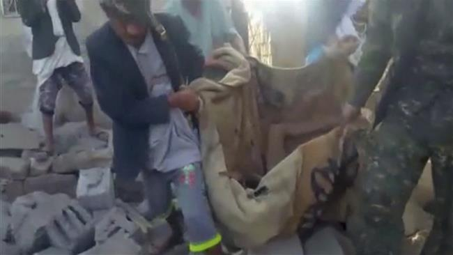Photo of Saudi warplanes mow down civilians in Sana'a