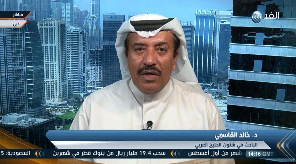 Photo of الإماراتي خالد القاسمي يكشف بوضوح هدف الإمارات في اليمن (صورة)