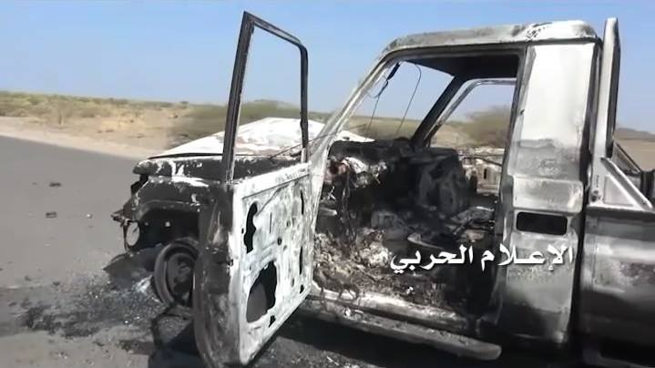 Photo of قوات صنعاء تنفذ عملية نوعية على مواقع القوات الموالية للتحالف وتحرق آليتين في منطقة يختل بالمخا