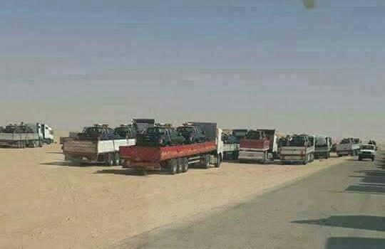 Photo of اليمن: في سباق مع الإمارات السعودية تلقي بثقلها العسكري على محافظة المهرة وتعزز بـ 200 قاطرة تحمل عتاداً عسكرياً