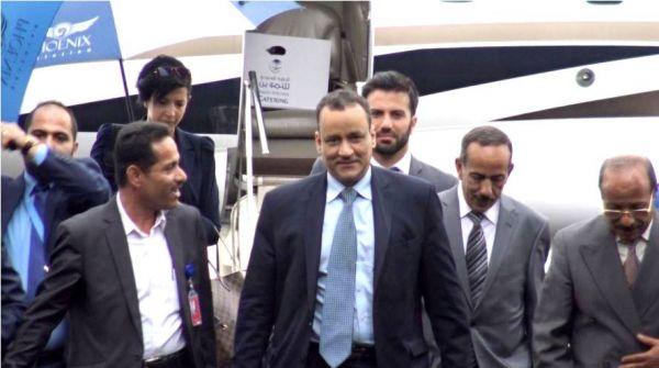 "Photo of نائب ""ولد الشيخ"" يصل صنعاء لبحث استئناف المفاوضات وسط انتقادات بالانحياز لتحالف"