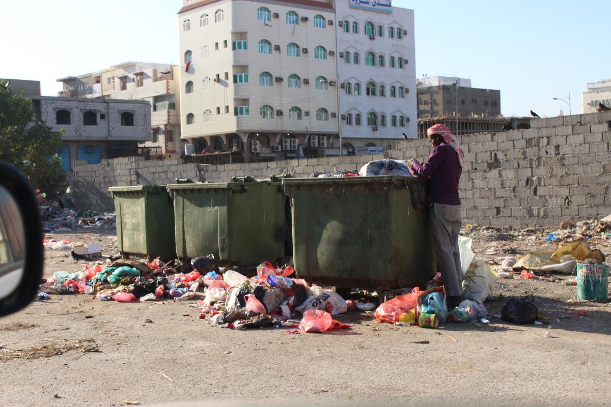 Photo of اليمن: النفايات تملأ شوارع عدن… والموازنة «تتبخّر»!