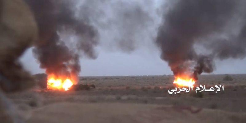 تعز: مقتل 6 جنود إماراتيين وتدمير 6 آليات بنيران قوات صنعاء