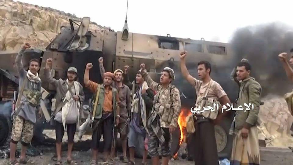 """Photo of قوات صنعاء توزع مشاهد لعملية استدراج للقوات الإماراتية في موزع بتعز """"شاهد الفيديو"""""""