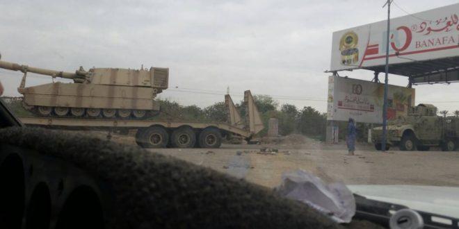 Photo of عدن : نقل قوة عسكرية معززة بالدبابات رغم وجود لجنتي تهدئة