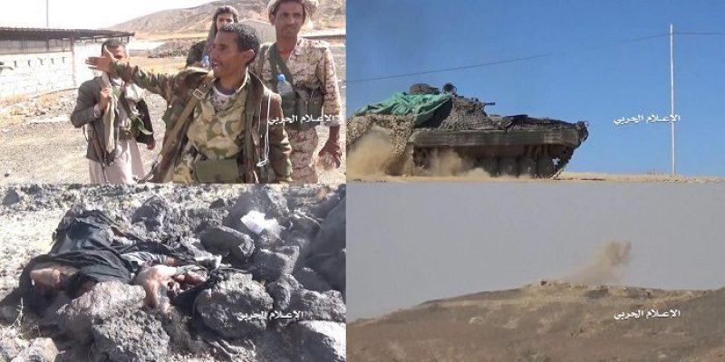 """بالصور والأسماء: قوات صنعاء تتقدم في جبهة قيفة بالبيضاء """" تفاصيل"""""""