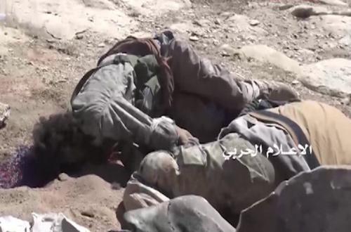 Photo of قتلي وجرحي من الجنود السعوديين و قوات هادي وتدمير آليات في عدة جبهات