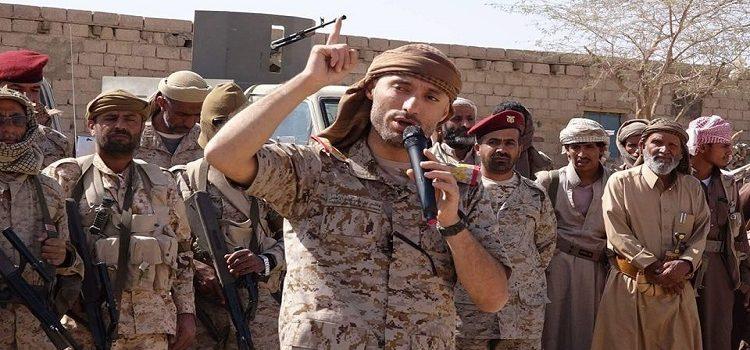 Photo of اليمن: العكيمي يهاجم هاشم الأحمر ويتحداه أن يفتح جبهة في عمران