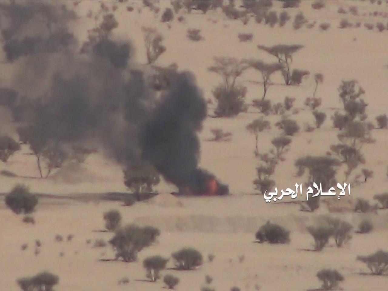 """Photo of قوات """"الإنقاذ"""" تشن هجوماً في الجوف وتوقع قوات التحالف في كمين أدى لتدمير 8 مدرعات"""