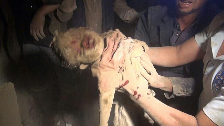 Photo of هذا ماقالته قناة الحدث عن المجزرة التي ارتكبها طيران التحالف في عمران
