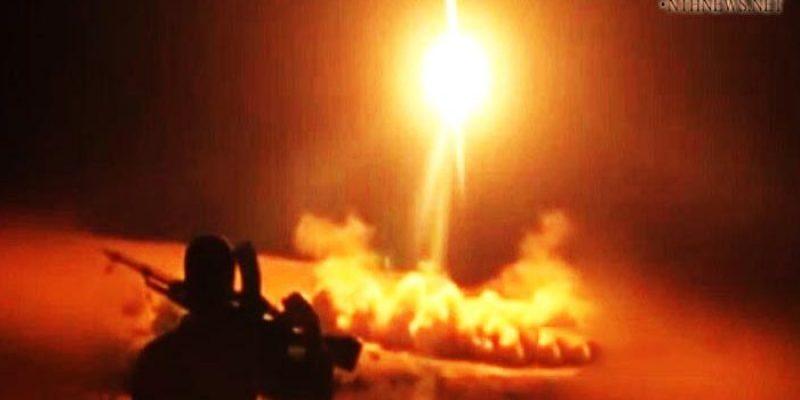 صاروخ زلزال1 يضرب تجمعات قوات هادي في جيزان