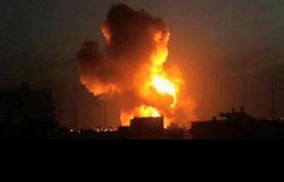 Photo of ضحايا مدنيين في استهداف حي سكني بمنطقة الجراف بصنعاء ومصنع أغذية بحدة