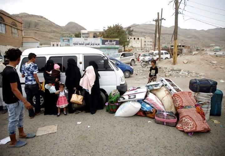 """Photo of منذ شهر يونيو""""أكثر من 78ألف أسرة نزحت من الحديدة"""""""