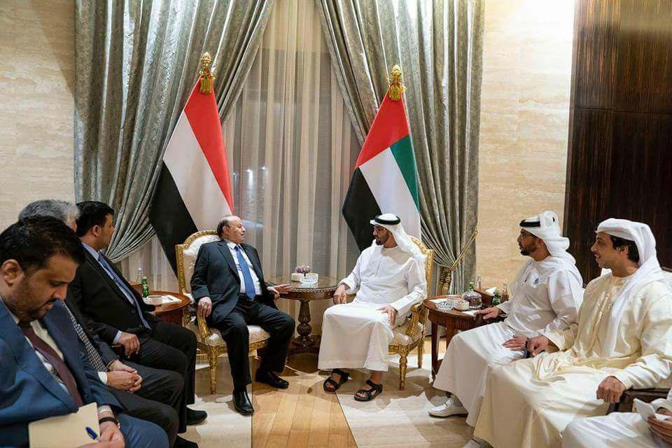 """Photo of """"ميدل ايست آي"""" البريطاني: بن زايد استدعى الرئيس هادي إلى أبوظبي وأجبره على التوقيع على عملية الحديدة"""