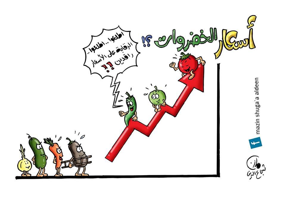 Photo of كاريكاتير:اسعار الخضروات ترتفع بشكل غير مسبوق