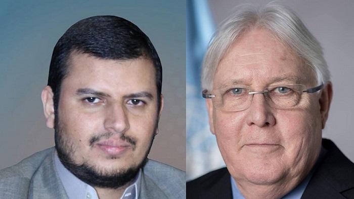 Photo of الحوثي في لقاءه غريفث: جاهزون للسلام والطرف الآخر متعنّت