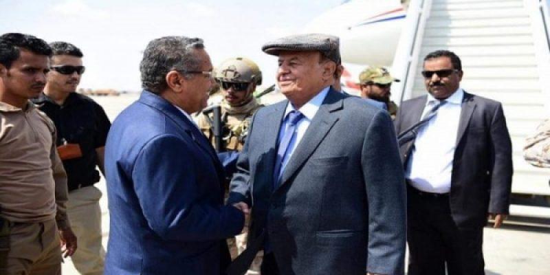 """مسؤول تابع لهادي .. الإمارات مازالت تمنع الحكومة من العودة إلى عدن"""""""