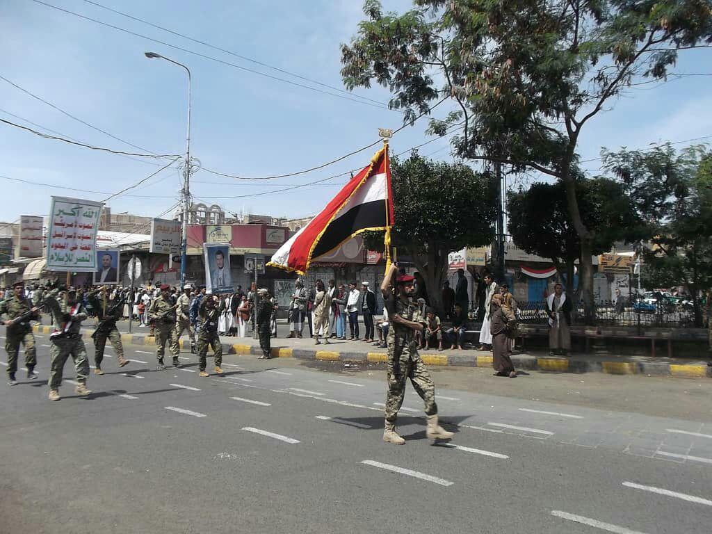 "Photo of ""بالصور""  صنعاء تحتفي بثورة 14 اكتوبر وهادي عاجز كالعادة"