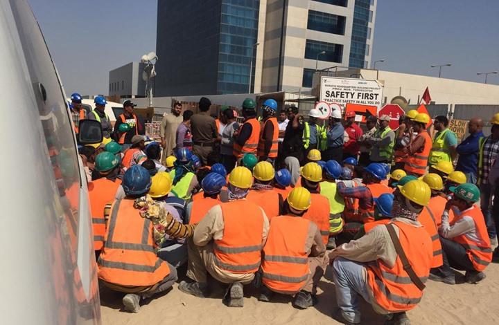 Photo of الأمن السعودي يطلق النار على عمال شركة أرامكو المطالبين برواتبهم
