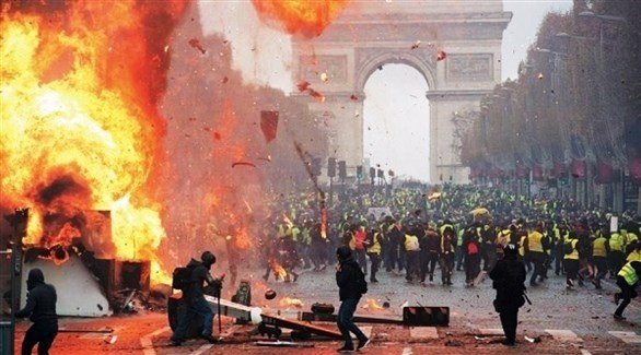 Photo of فرنسا تعلن إيقاف 1723 شخصا خلال احتجاجات الأمس