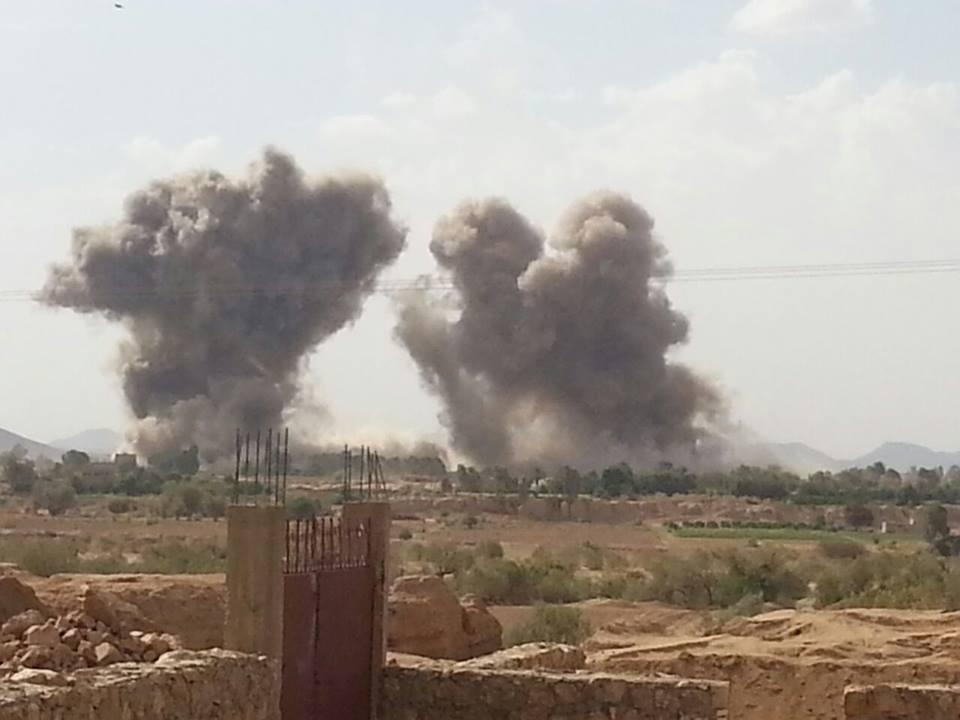 Photo of إحصائية غارات التحالف على عدد من المحافظات اليمنية