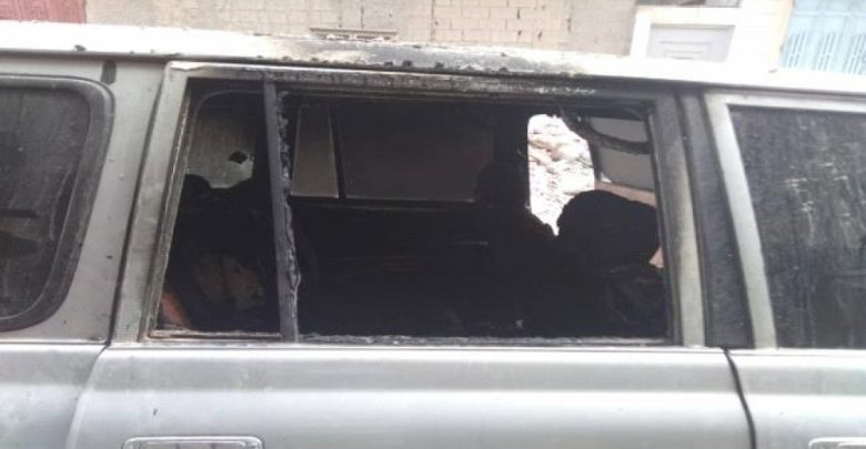 Photo of في محاولة تصفيته.. مجهولون يحرقون سيارة رئيس عمليات مكتب الرئاسة