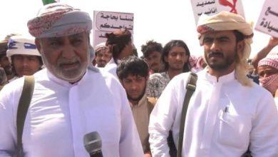 Photo of وكيل محافظة المهرة: لن يمرّ المشروع السعودي إلا على جمَاجِمنا