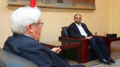 Photo of غريفيث يلتقي مهدي المشاط في صنعاء