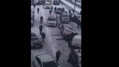 "Photo of حادث ""عجيب"" في موسكو.. تصادم أكثر من 50 سيارة"