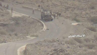 Photo of قوات صنعاء تستهدف مواقع للقوات الموالية للتحالف بقعطبة