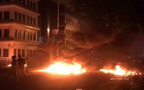 Photo of حريق هائل في مدينة عدن