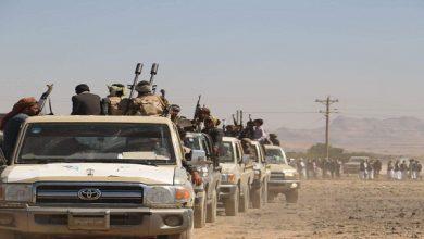 Photo of قبيلة بني نوف تحتجز ثمانية جنود سعوديين وتتوعد بتسليمهم إلى الحوثيين
