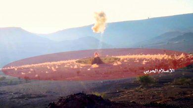 "Photo of شاهد كيف استهدف ""الحوثيون"" موقعا عسكريا لـ""التحالف"" بالصاروخ الجديد"