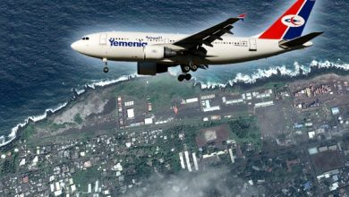 Photo of نجاة طائرة اليمنية وركابها من كارثة سقوط وشيك