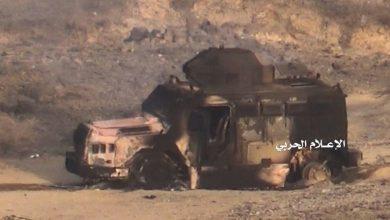 "Photo of حجة  خسائر بشرية ومادية إثر ضربات صاروخية ومدفعية على قوات ""التحالف"""
