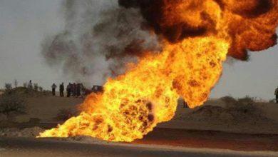 Photo of شبوة| تسريب كميات كبيرة من الوقود في انبوب نفط