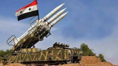 Photo of اسقاط طائرة مسيّرة محملة بالصورايخ قرب مطار حماة السوري